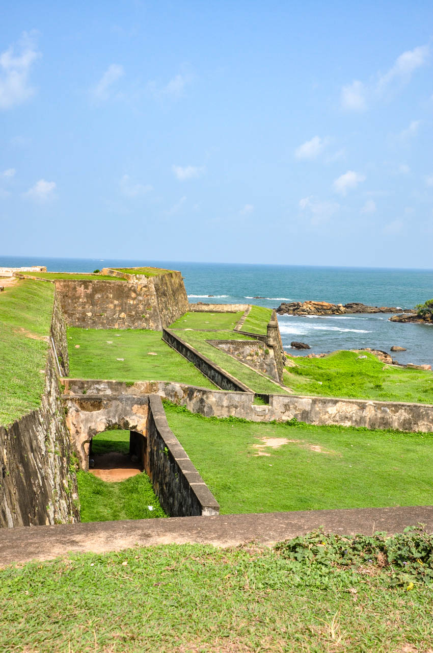 Galle Fort Star Bastion ramparts