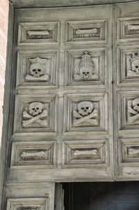 Church of Purgatory's door