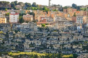 New Matera sits on top of the Sassi di Matera