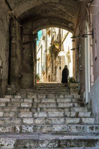 Steps in the Sassi di Matera