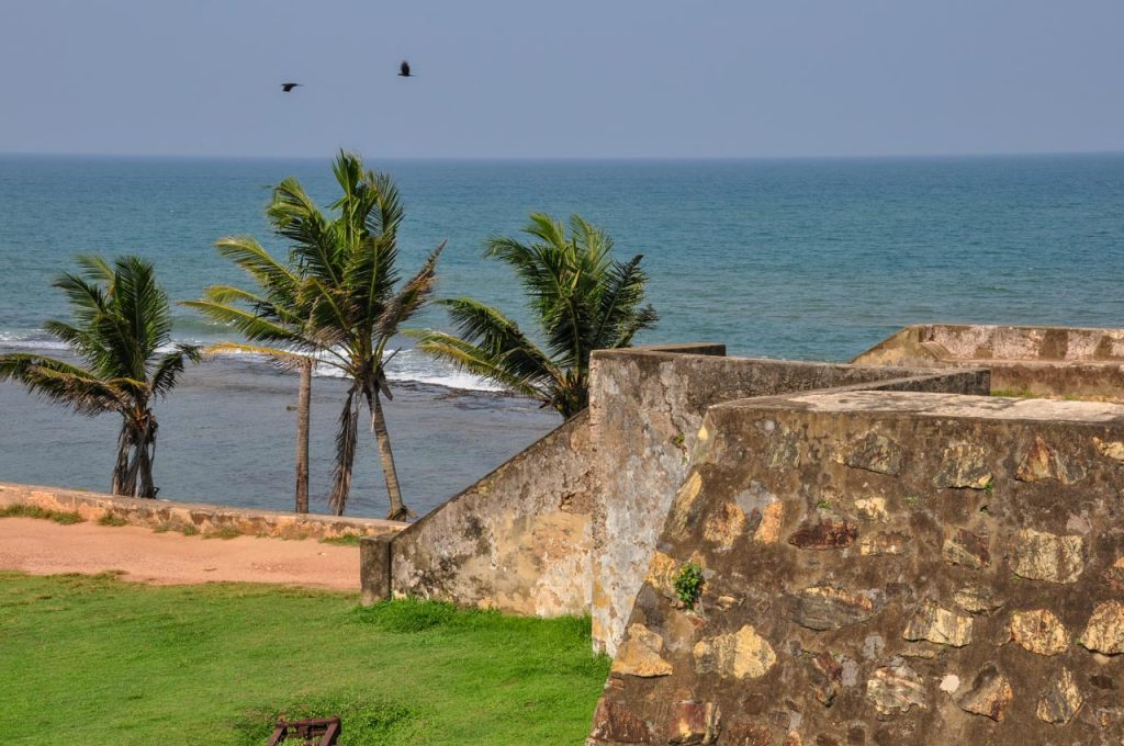 Galle Fort ramparts Star Bastion
