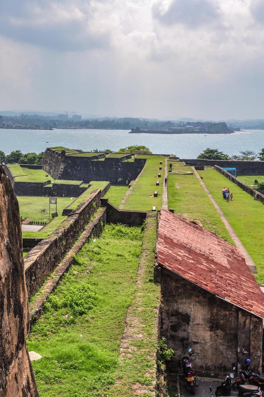 Sun Bastion Galle Fort ramparts