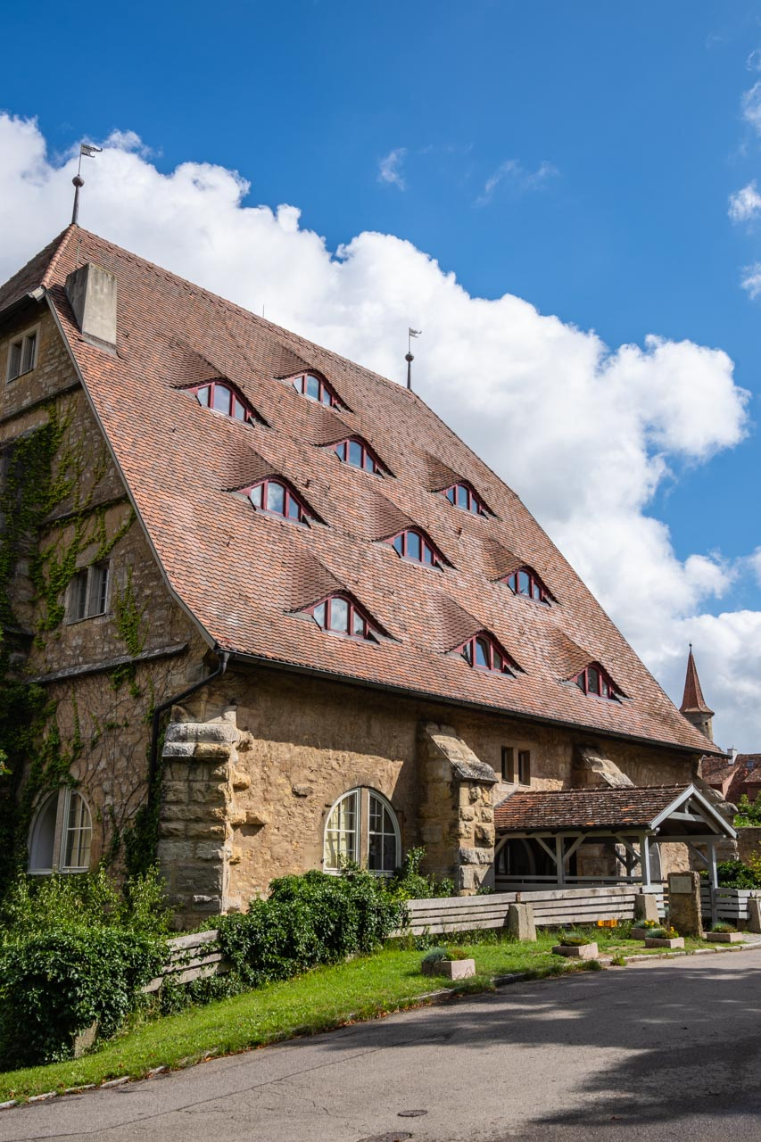 Rothenburg's Horse Mill is now a youth hostel