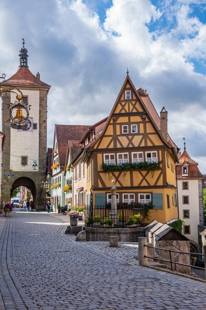 Rothenburg's Plonlein (Little Square)