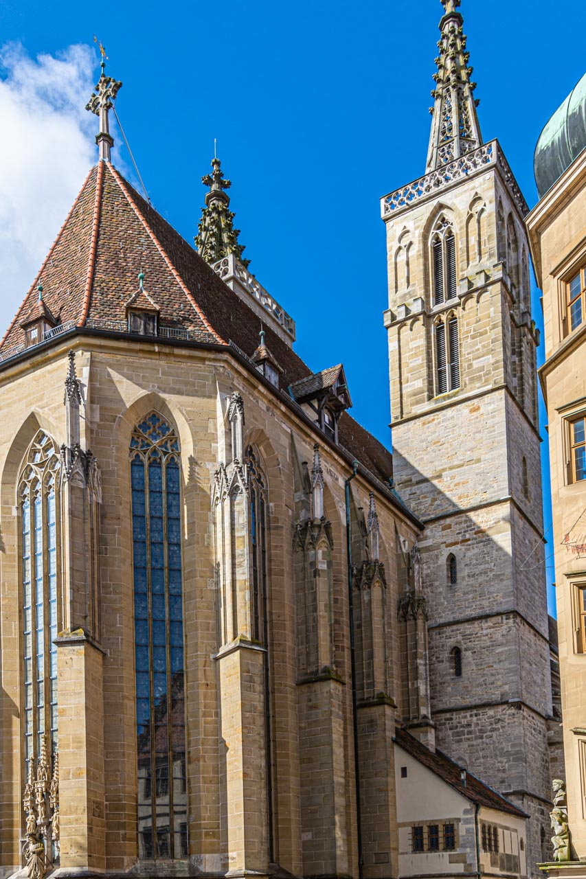 Lutheran church in Rothenburg