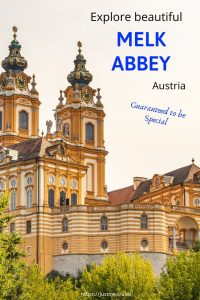 Melk Abbey blog post PIN for Pinterest