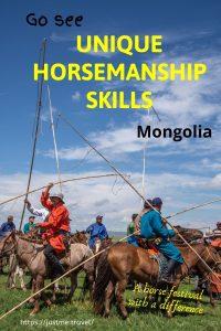 Men on horses holding lassos